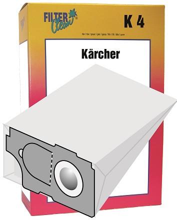 Staubsaugerbeutel K4 Papierfilter Kärcher