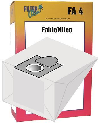 Staubsaugerbeutel FA4 Papierfilter Braun