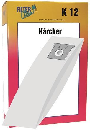 Staubsaugerbeutel K12 Papierfilter Kärcher