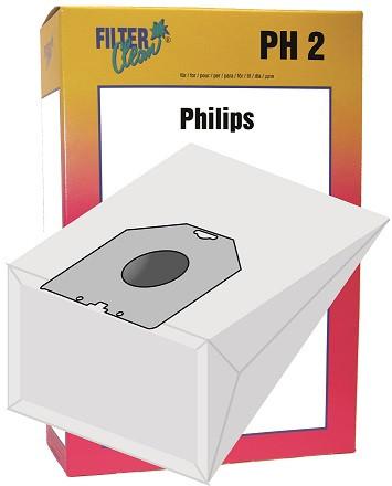 Staubsaugerbeutel PH2 Papierfilter Phillips