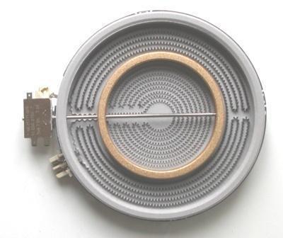 Strahlungsheizkörper 10.51211.004 Zweikreis 210/120mm  2200/750W