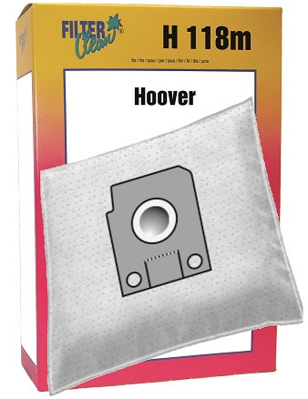 Staubsaugerbeutel H118m Mikrovlies Hoover