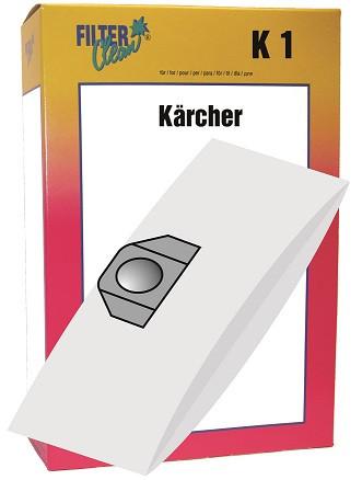 Staubsaugerbeutel K1 Papierfilter Kärcher