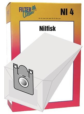 Staubsaugerbeutel NI4 Papierfilter Nilfisk