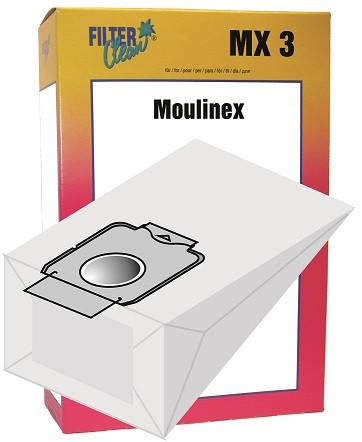 Staubsaugerbeutel MX3 Papierfilter Moulinex