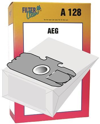 Staubsaugerbeutel A128 Papierfilter, Gr. 12, 15 AEG