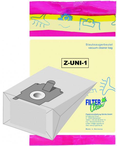 Staubsaugerbeutel ZUNI1 / Z2000 Papierfilter