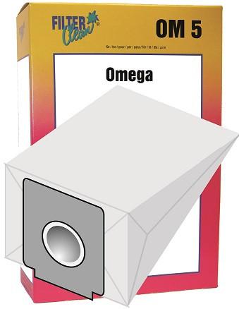 Staubsaugerbeutel Omega5 Papierfilter Solac