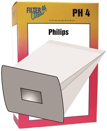 Staubsaugerbeutel PH4 Papierfilert Phillips