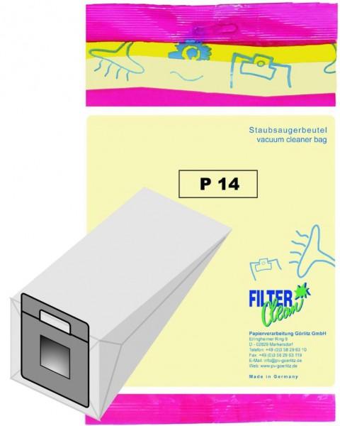 Staubsaugerbeutel P14 Papierfilter Progress