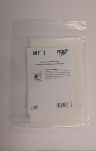 Universal-Micro-Feinstfilter Motorschutzfilter für Staubsauger Universal
