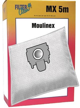 Staubsaugerbeutel MX5m Mikrovlies Moulinex