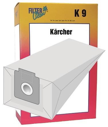 Staubsaugerbeutel K9 Papierfilter Kärcher