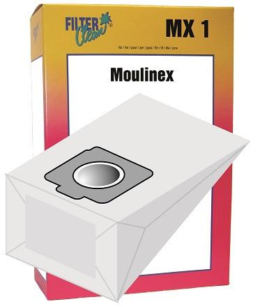 Staubsaugerbeutel MX1 Papierfilter Moulinex