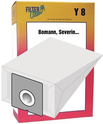 Staubsaugerbeutel Y8 Papierfilter