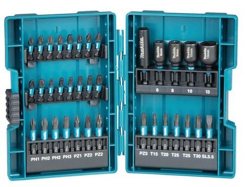 BIT Set 35tlg.makita mit Steckschlüsseln magnetisch