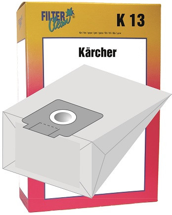 Staubsaugerbeutel K13 Papierfilter Kärcher T10/1 T7/1