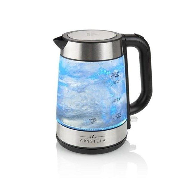 Wasserkocher CRYSTELA 6153 eta/Omega 1,7 Liter,2200W Glasoptik