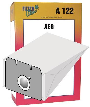 Staubsaugerbeutel A122 Papierfilter, Gr. 16 AEG