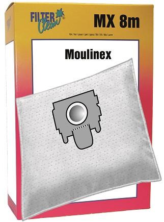 Staubsaugerbeutel MX8m Papierfilter Moulinex