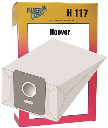 Staubsaugerbeutel H117 Papierfilter Hoover