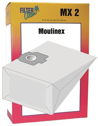Staubsaugerbeutel MX2 Papierfilter Moulinex