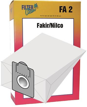 Staubsaugerbeutel FA2 Papierfilter Fakir-Nilco
