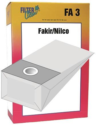 Staubsaugerbeutel FA3 Papierfilter Fakir-Nilco