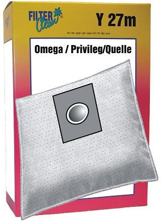 Staubsaugerbeutel Y27m Omega Topas mikroMax