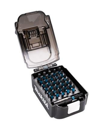 "BIT Set 31tlg.Schlagfest makita in Akku-Box inkl. Bithalter 60mm 1/4"""