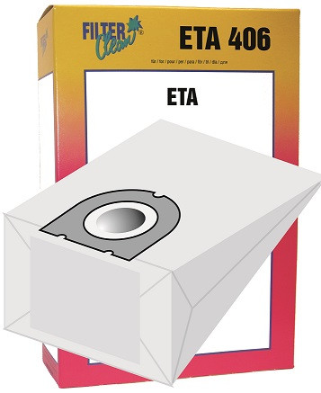 Staubsaugerbeutel ETA406 Papierfilter Carat, Birdy