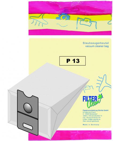 Staubsaugerbeutel P13 Papierfilter Progress