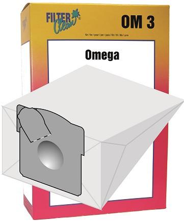 Staubsaugerbeutel Omega 3 Papierfilter Omega