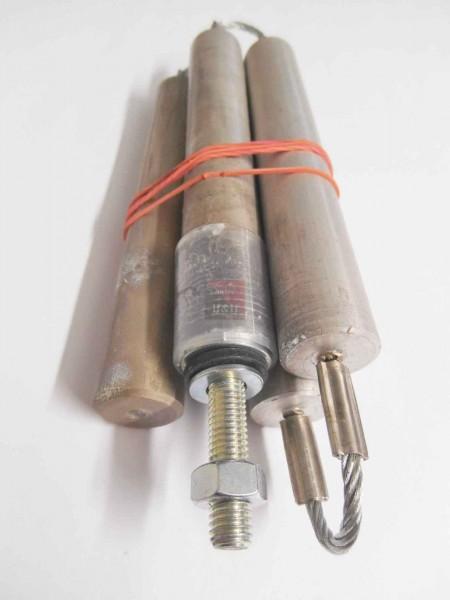 Glieder-Kettenanode 22x800 mm 4 Glieder isolierter Einbau