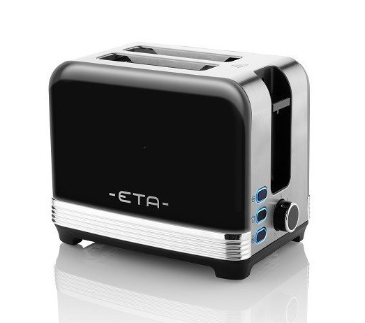 Toaster Storio 9166 Omega schwarz