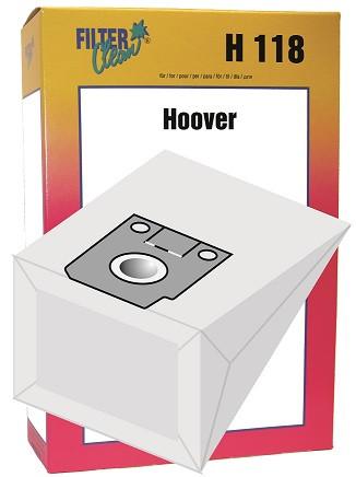 Staubsaugerbeutel H118 Papierfilter