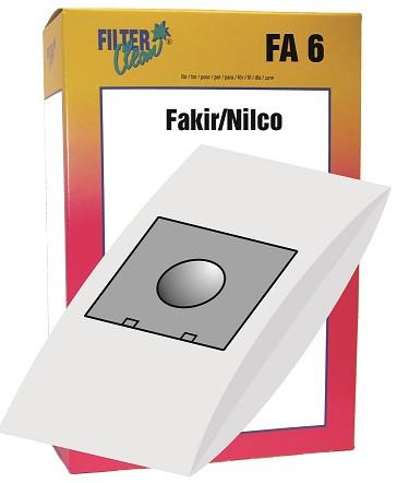 Staubsaugerbeutel FA6 Papierfilter Fakir, Samsung