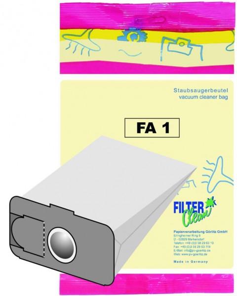 Staubsaugerbeutel FA1 Papierfilter Fakir