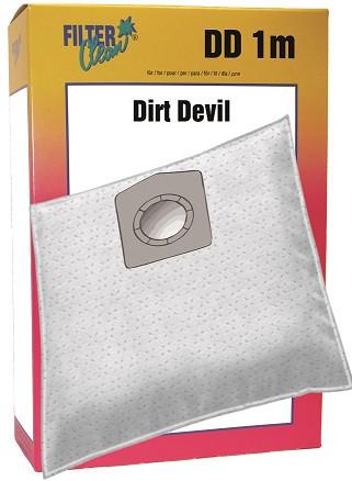 Staubsaugerbeutel DD1m Mikrovlies Handy Dirt Devil