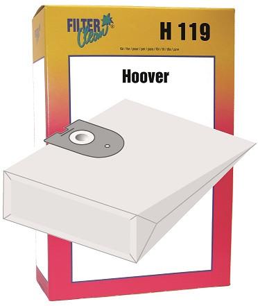 Staubsaugerbeutel H119 Papierfilter Hoover Galaxy