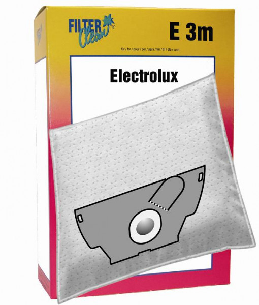 Staubsaugerbeutel E3m Papierfilter Elektrolux/ Mikromax