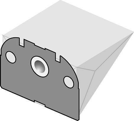 Staubsaugerbeutel V250 Papierfilter Vorwerk