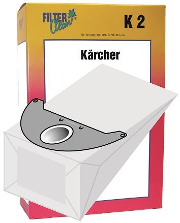 Staubsaugerbeutel K2 Papierfilter Kärcher