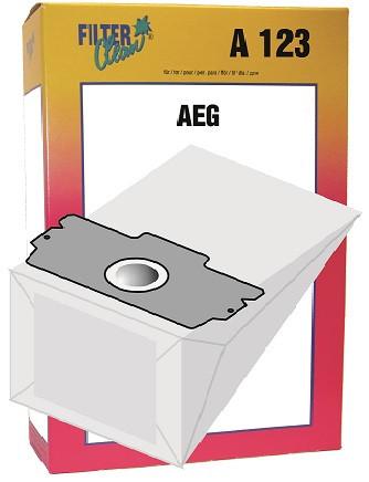 Staubsaugerbeutel A123 Papierfilter, Gr. 11, 13 AEG