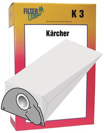Staubsaugerbeutel K3 Papierfilter Kärcher