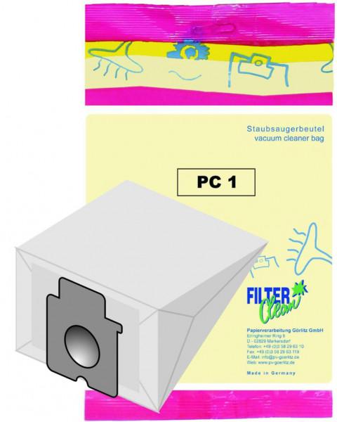 Staubsaugerbeutel PC1 Papierfilter Panasonic