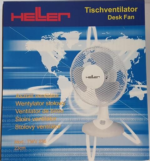 Tischventilator TWV236 23 cm ø 30W 3 Stufen