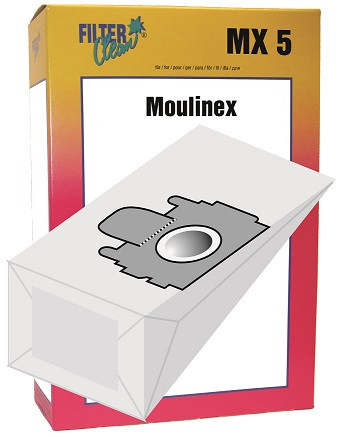 Staubsaugerbeutel MX5 Papierfilter Moulinex