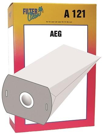 Staubsaugerbeutel A121 Papierfilter, Gr. 9 AEG