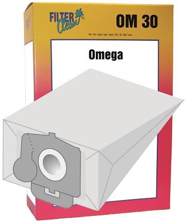 Staubsaugerbeutel Omega30 Papierfilter Comfort